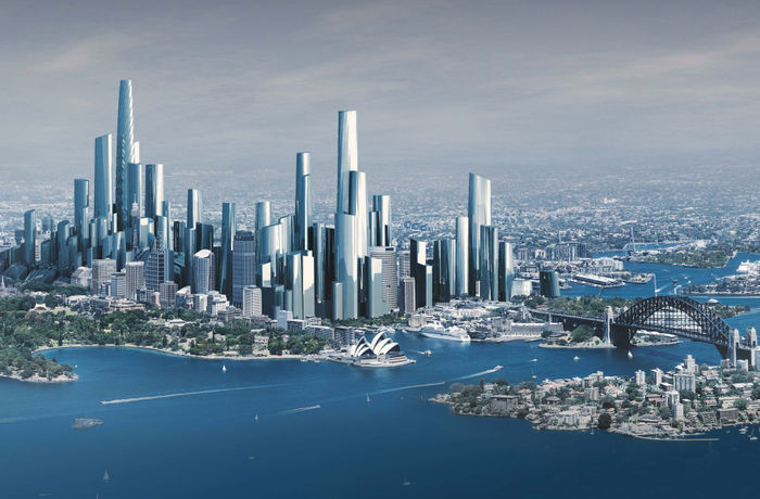 JOURNAL/ by Bates Smart · Sydney 2050, Supertall ...