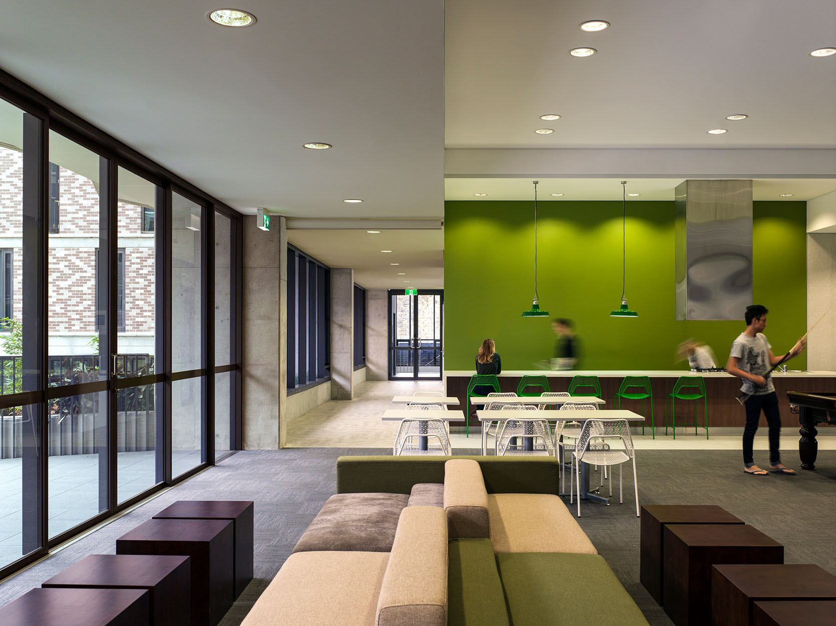 unsw kensington colleges redevelopment projects bates smart