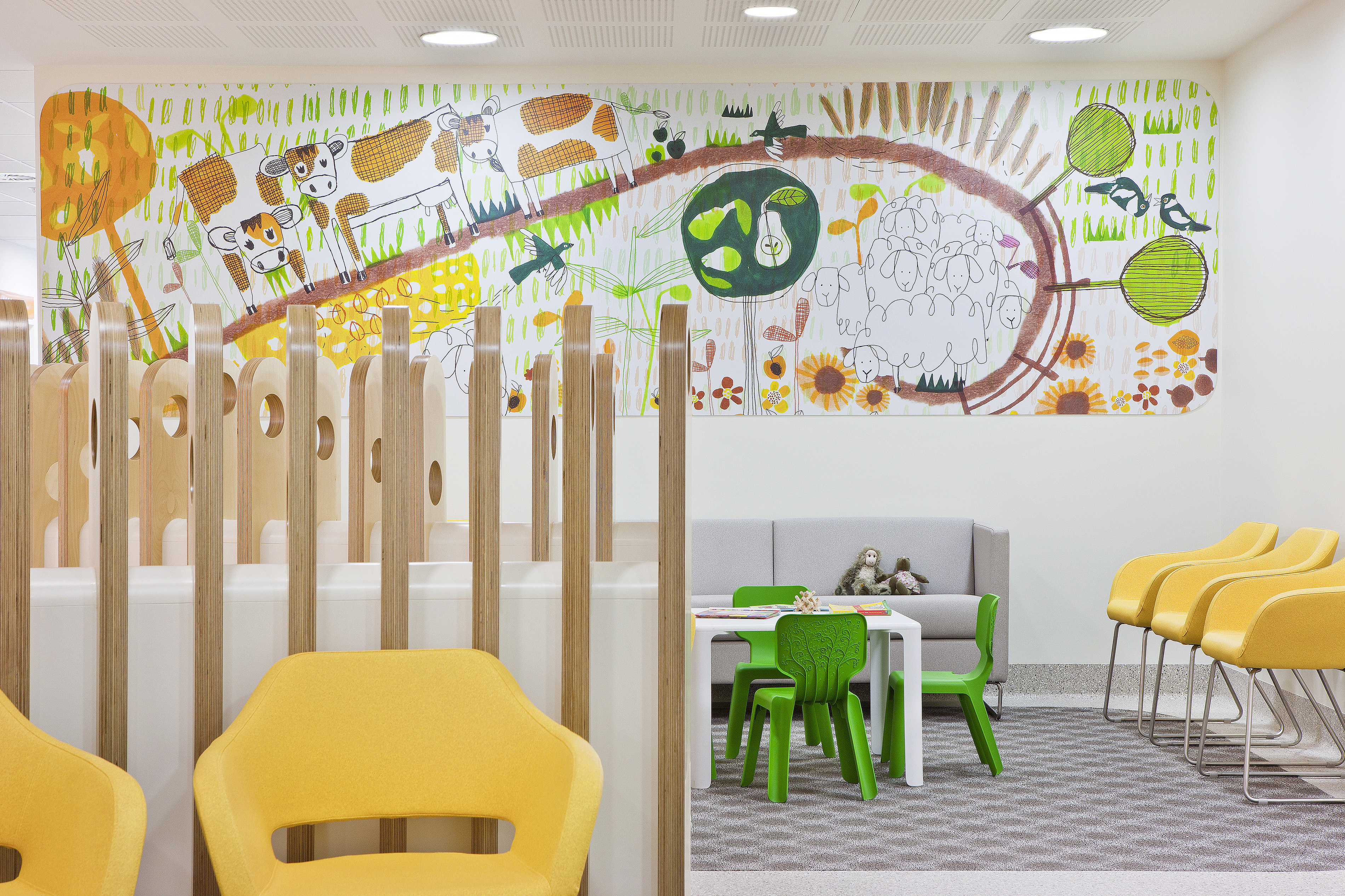 The Royal Children S Hospital Interiors Projects Bates Smart