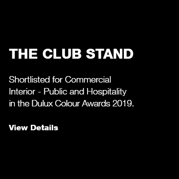 The Club Stand: Dulux Colour Awards Shortlist