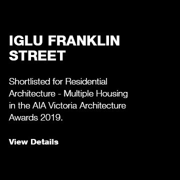 Iglu Franklin St: Victorian Architecture Awards Shortlist