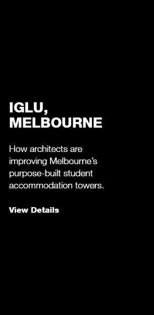 Iglu + Melbourne's Student Accommodation