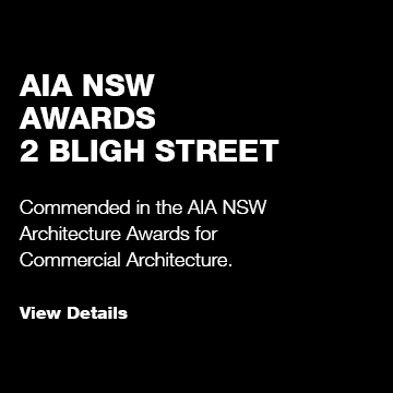 2 Bligh St: AIA NSW Awards