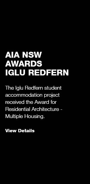 Iglu Redfern: AIA NSW Award Winner