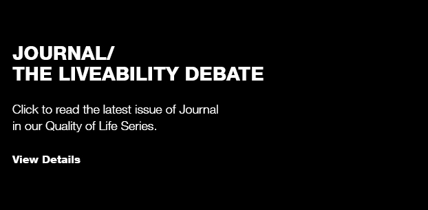 Journal/ The Liveability Debate