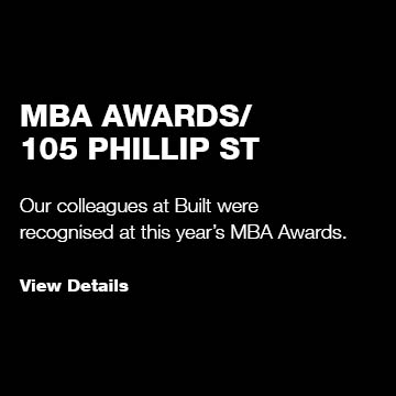 MBA Awards/ 105 Phillip Street