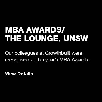 MBA Awards/ The Lounge UNSW