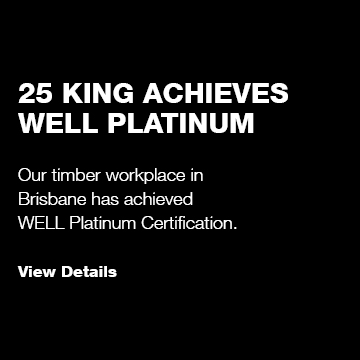 25 King Achieves WELL Platinum Rating