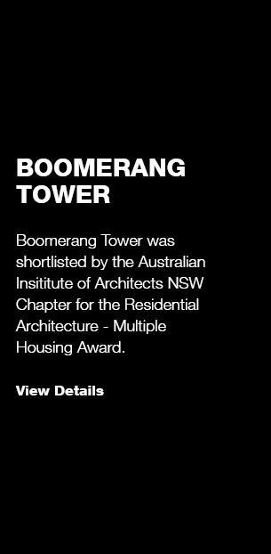 Boomerang Tower/ AIA NSW Awards Shortlist