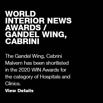 WIN Awards / Gandel Wing, Cabrini Malvern