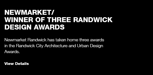 Newmarket/ Randwick Design Awards Finalist
