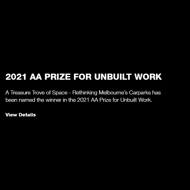 2021 AA Prize for Unbuilt Work / A Treasure Trove of Space